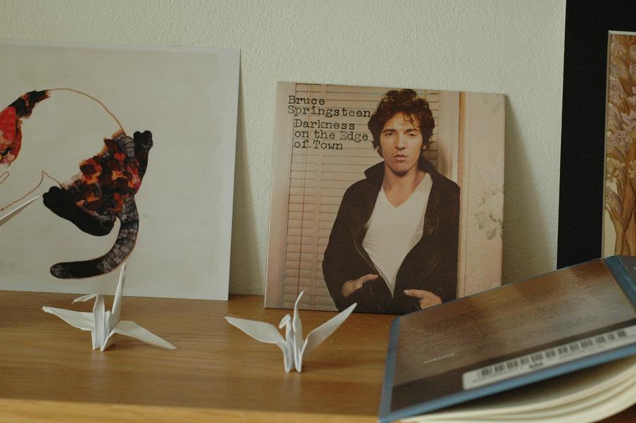 Bruce Springsteen og papirfugler